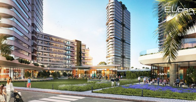 Evora İzmir banka kredili 100 ay 0,98 vade kampanyası!