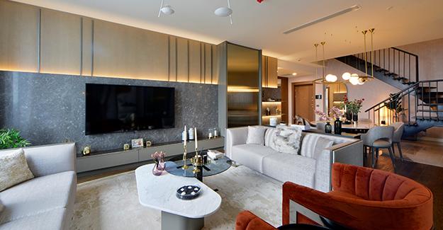 Skyland İstanbul'un örnek dairesi tamamlandı!