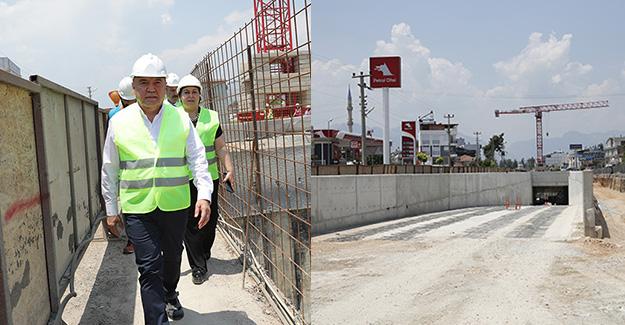 'Antalya 3. Etap Raylı Sistem'de Varsak - Otogar güzargahı Temmuz sonu açılacak'!
