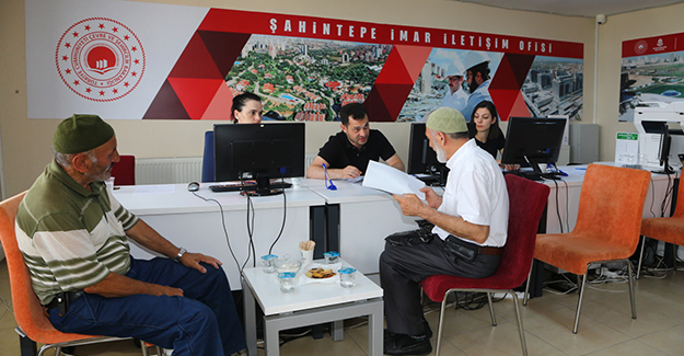 Başakşehir Şahintepe'de imar iletişim ofisi açıldı!