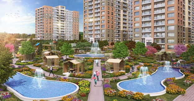 Marmara Evleri 4'ün örnek dairesi yepyeni bir konseptle hazırlandı!