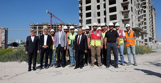 'Sahabiye kentsel dönüşüm projesi hızla ilerliyor'!