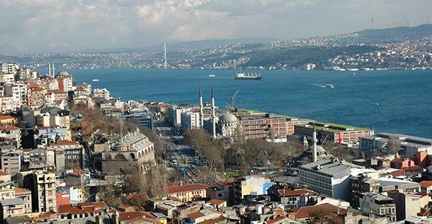 Beyoğlu deprem toplanma alanları!