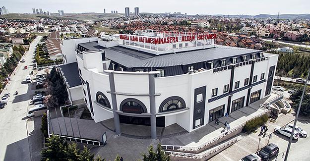 Kral daireli, sinema salonlu Minasera Hastanesi'nin binası yeni sahibini bekliyor!