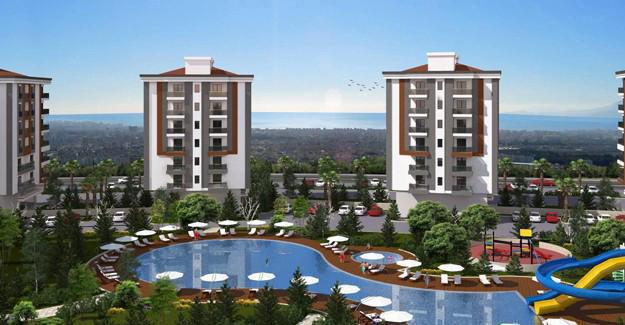 Panorama Evleri Antalya harita!