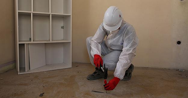 Yahya Kemal Mahallesi kentsel dönüşüm kapsamında binalarda asbest denetimi yapıldı!