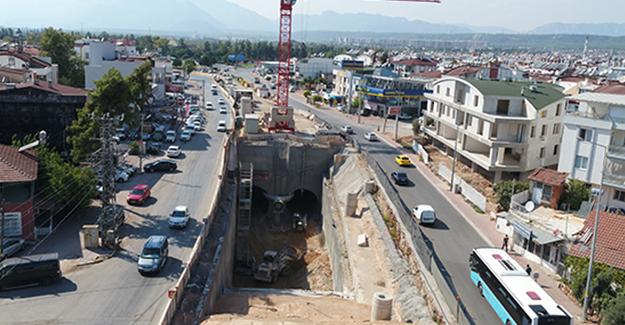 Antalya 3. Etap Raylı Sistem Projesinde çalışmalar hızla devam ediyor!