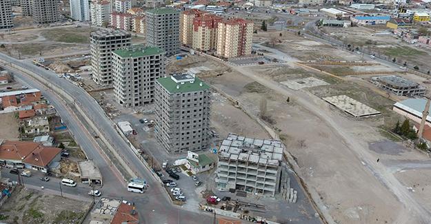 Kayseri Kazım Karabekir kentsel dönüşüm projesinde 2 bloğun temeli bugün atılacak!