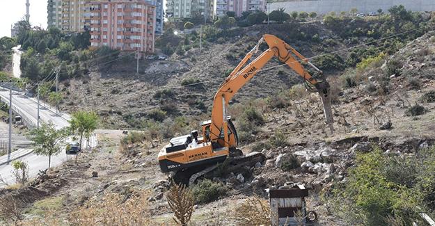 Dursunbey 3. etap TOKİ'de kazı çalışmaları başladı!