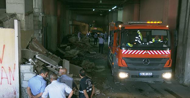 Esenler Otogarı'nda metruk binalar yıkıldı!