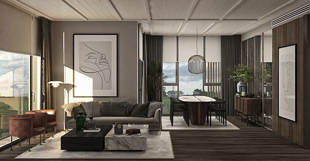 Mesa Orman'ın örnek dairesi hazır!