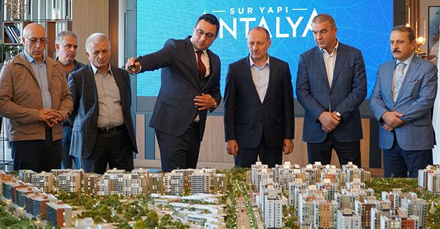 Sur Yapı Antalya'ya uluslararası ziyaret!