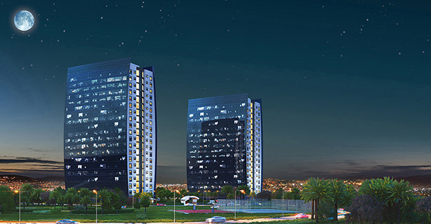 Aypark Residence İzmir harita!
