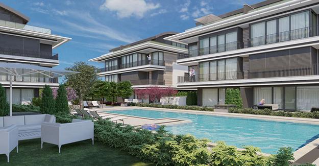 Seatown Antalya evleri satılık!