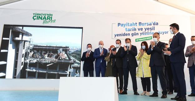 Bakan Murat Kurum'dan Bursa'ya kentsel dönüşüm müjdesi!