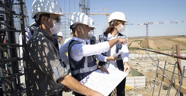 'Silivri 4. Etap Sosyal Konutları'nın inşaatına hızla devam ediyoruz'!