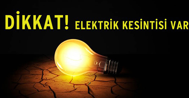 Bursa elektrik kesintisi 27-28 Ekim 2020!
