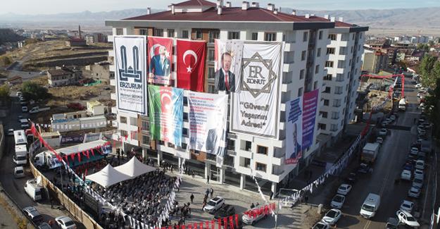 Erzurum Veyisefendi kentsel dönüşüm projesi 1. etap anahtar teslim töreni yapıldı!