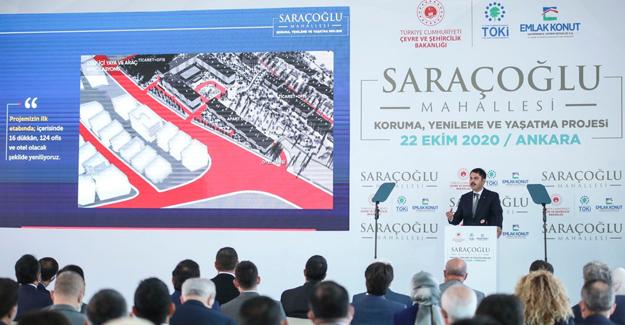 Saraçoğlu Mahallesi Koruma, Yenileme ve Yaşatma Projesi start aldı!