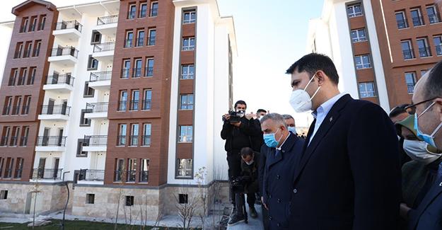 Elazığ'da 2 bin 500 deprem konutu teslime hazır!