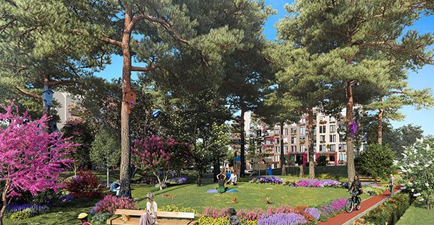 Ormanköy'ün bahçe villaları ve lot dairelerine yoğun talep!