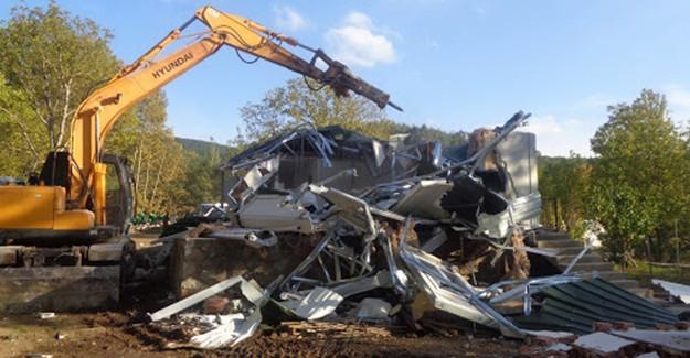 Osmangazi'de kaçak yapı temizliği devam ediyor!