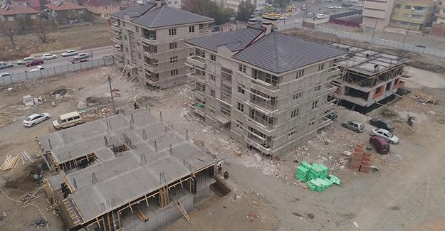 Erzincan Kızılay Hocabey Mahalleleri kentsel dönüşüm çalışmaları hızla devam ediyor!