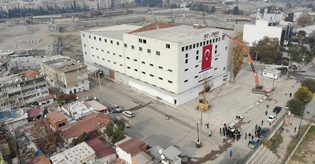 İzmir Ege Mahallesi kentsel dönüşüm projesi için yıkımlar başladı!