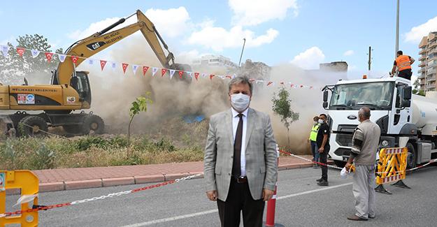 Melikgazi'de bir yılda 280 metruk yapı ve gecekondu yıkıldı!