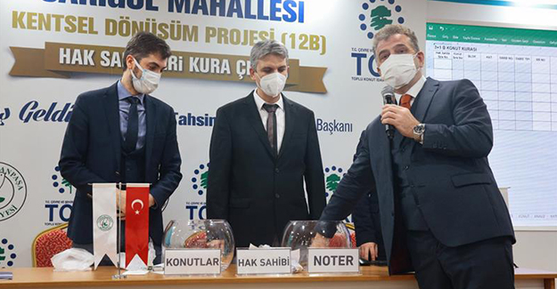 Gaziosmanpaşa Sarıgöl kentsel dönüşüm projesinin hak sahipleri belli oldu!