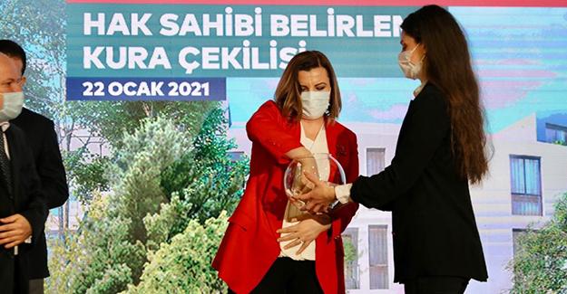 Kiptaş İzmit Çınar Evleri kura çekimi yapıldı!