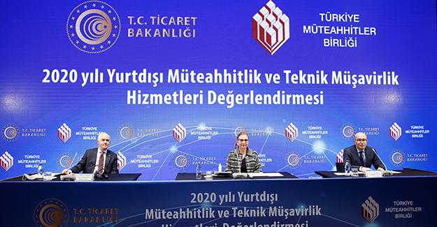 Türk müteahhitlerin 2021 hedefi ilk aşamada 20 milyar doları yakalamak!