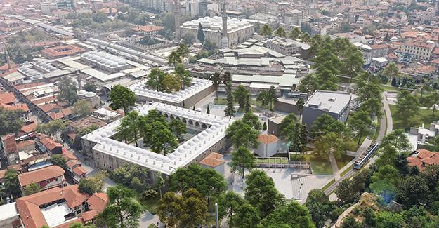 Hanlar Bölgesi ve Çarşıbaşı kentsel tasarım projesinin yarışması sonuçlandı!