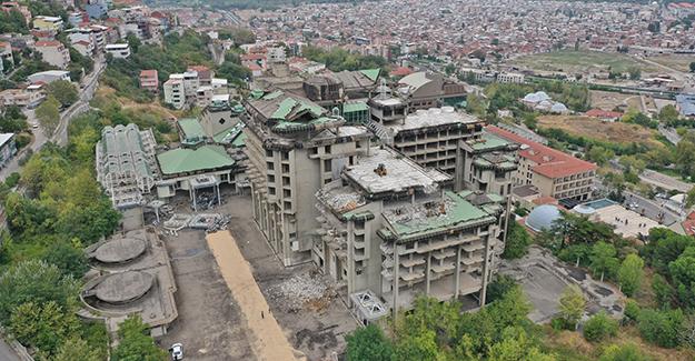 Bursa Çekirge Teras Projesi için yıkım çalışmaları devam ediyor!