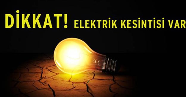 Bursa elektrik kesintisi 23-24 Mart 2021!