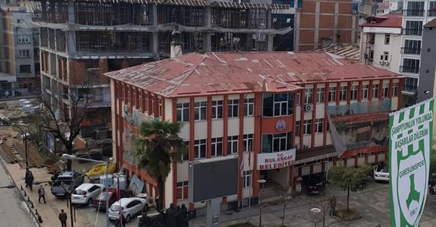 Bulancak eski belediye binası bu hafta yıkılıyor!
