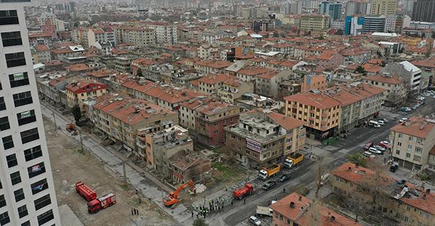 Sahabiye Kentsel Dönüşüm Projesi 2. uygulama etabında yıkımlar başladı!