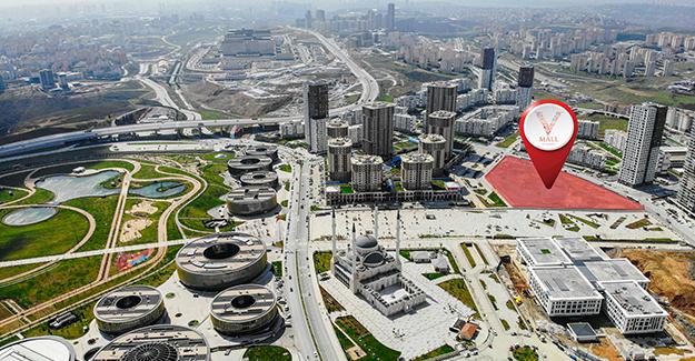 'V Mall İstanbul' Alışveriş Merkezi için ilk kazma vuruldu!