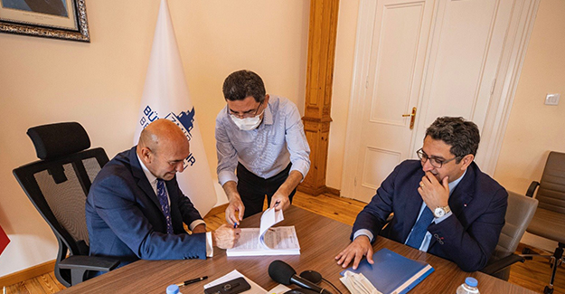 İzmir Gaziemir kentsel dönüşüm projesinin 1. etabı için imzalar atıldı!