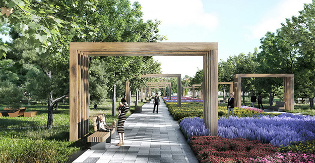 Burdur Bahçelievler Millet Bahçesi'nin ihalesi yapıldı!