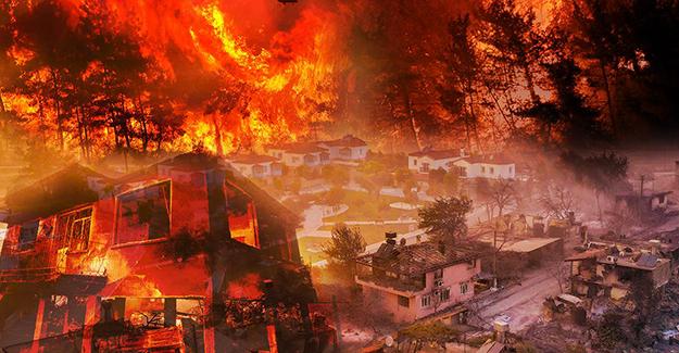TOKİ yangından zarar gören konutların yerine yenisini yapacak!