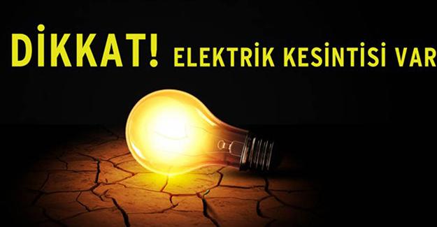 Bursa elektrik kesintisi 16-17 Eylül 2021!