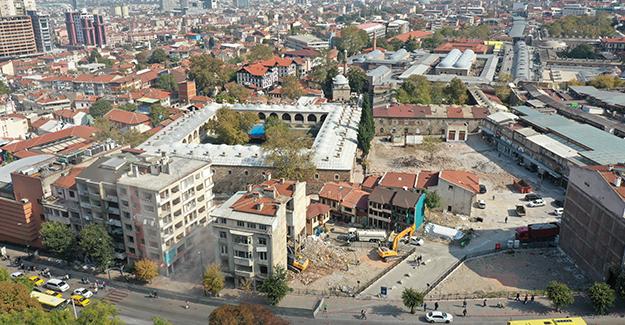 Hanlar Bölgesi ve Çarşıbaşı kentsel tasarım projesi için yıkımlar sürüyor!