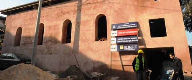 2 asırlık tarihi Tahtalı Köyü Camii yenileniyor