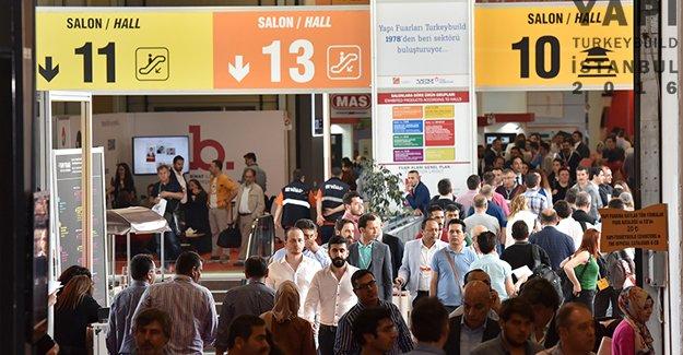 39. Yapı Fuarı- Turkeybuild İstanbul 110.430 yerli yabancı ziyaretçiyi ağırladı!