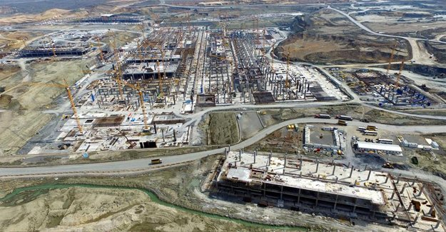 3. Havalimanına 140 bin metrekarelik terminal inşa edilecek!