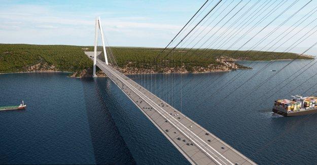 '3. köprü fiyatları 3 milyar lira tasarruf sağlayacak'!