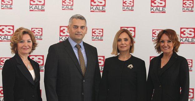3S Kale'nin 2016 yıl sonu ciro hedefi 217 milyon TL!