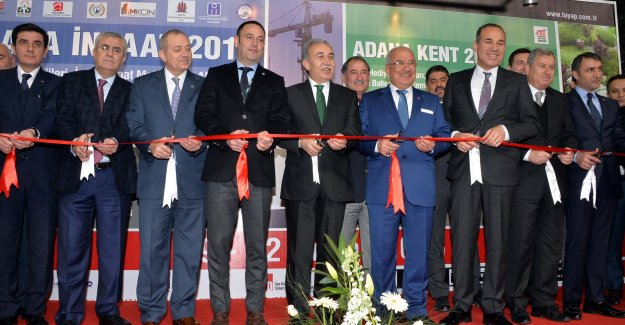 Adana İnşaat Fuarı'nı 37 bin 500 kişi ziyaret etti!