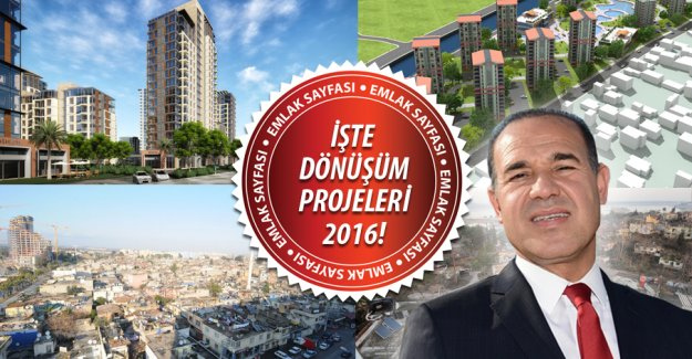 Adana'nın kentsel dönüşüm haritası belli oldu!